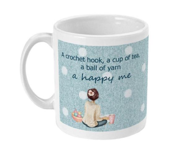 Crochet Cup - Best Gift For A Crochet Lover