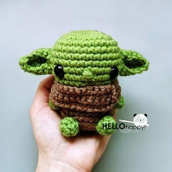 HelloHappy Baby Yoda