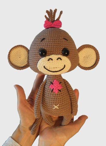 Monkey Nikki from BobdenaShop