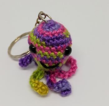 Little octopus keychain