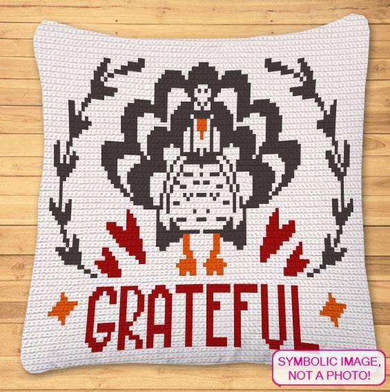 Thanksgiving Crochet Pattern - Crochet Turkey Pattern