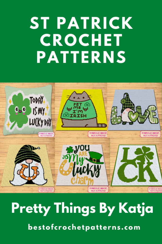 St. Patricks Day Crochet Patterns - FREE Pusheen Cat Pattern