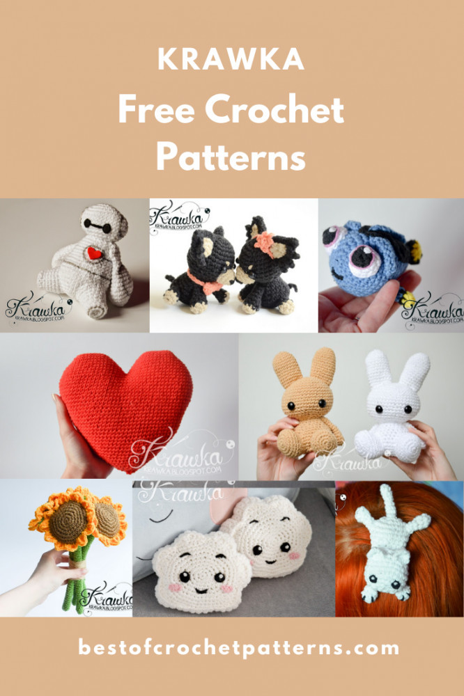 Free Amigurumi Crochet Patterns by Krawka
