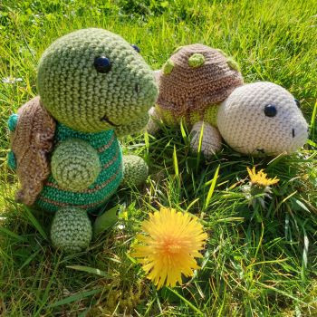 Tortoise Crochet Pattern - Little Green Bear