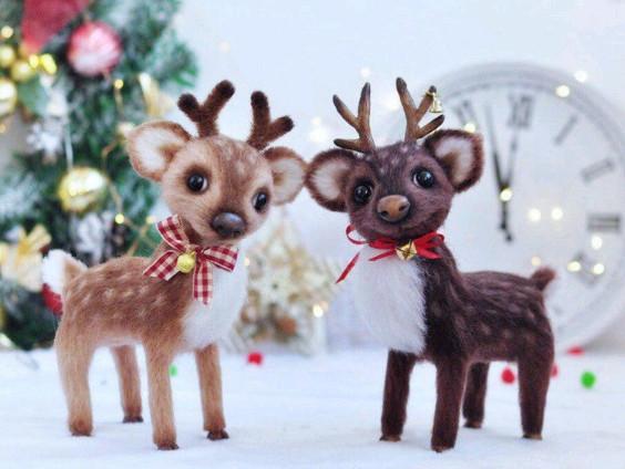 Crochet deer pattern - RedPandaToy
