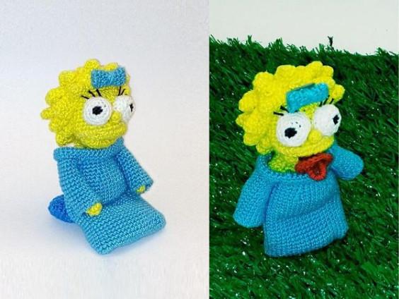 Maggie Simpson Crochet Pattern