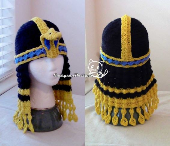 Queen Cleopatra Crochet Pattern - Halloween Crochet Pattern