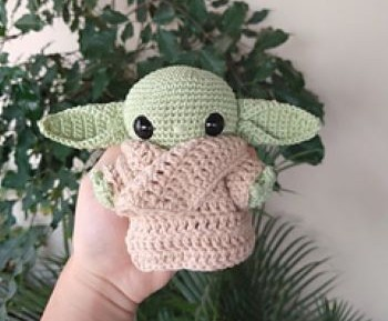 Baby Yoda Amigurumi Larissa Maced