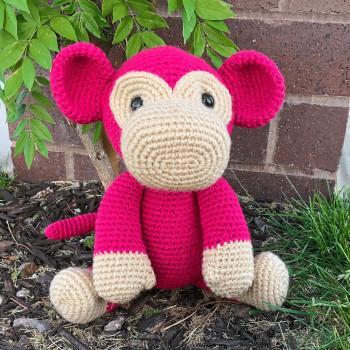 Mimi the monkey from Jess Huff