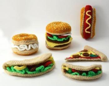 Fast food Crochet Pattern