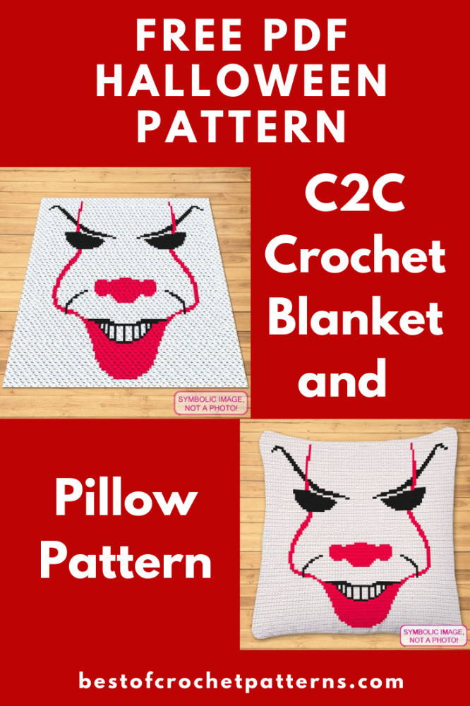 Free Halloween Crochet Pattern - Scary Clown