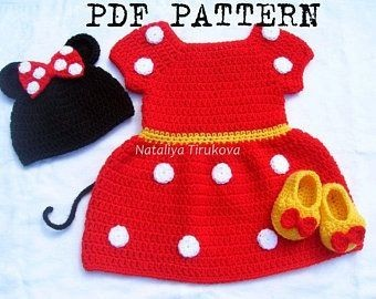 Minni mouse crochet pattern