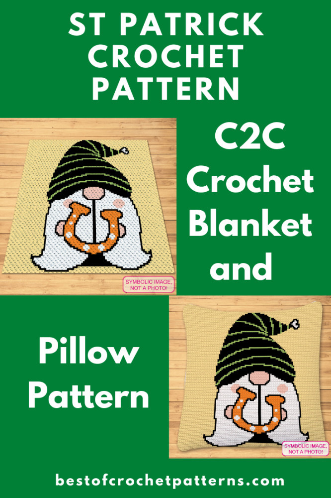 St. Patrick Gnome Pattern - Pretty Things By Katja