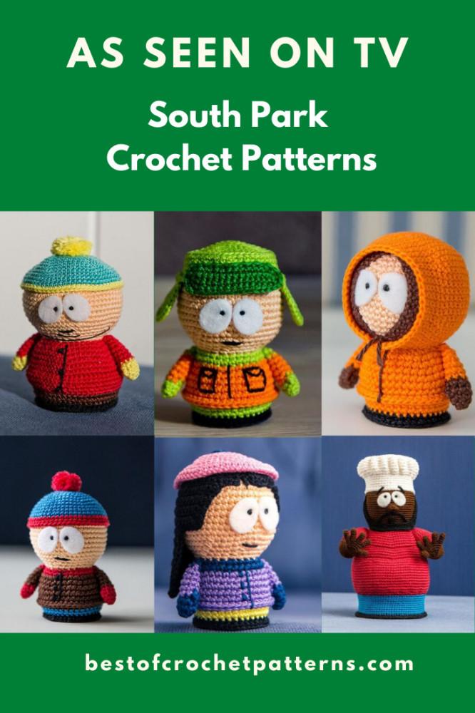 South Park Crochet Patterns