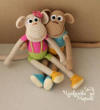 Funny monkey from MyCroWonders