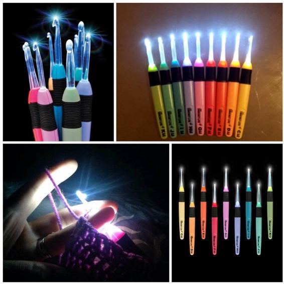 Crochet Light Up Hooks - Best Gift for a Crochet Lover