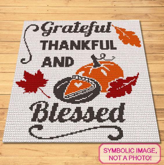 Thanksgiving Crochet Pattern - Crochet Blanket Pattern