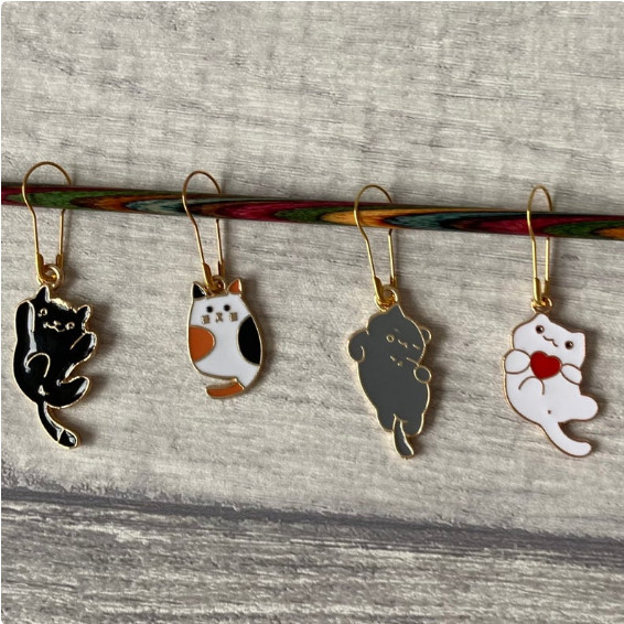 Crochet Stitch Markers - Best Gift For A Crochet Lover