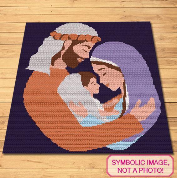 Christmas Crochet Pattern - Crochet Nativity Pattern