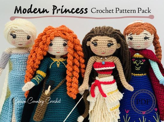 CrownCountryCrochet patterns