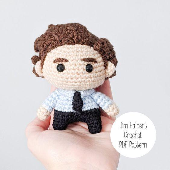 Jim Halpert Crochet Pattern
