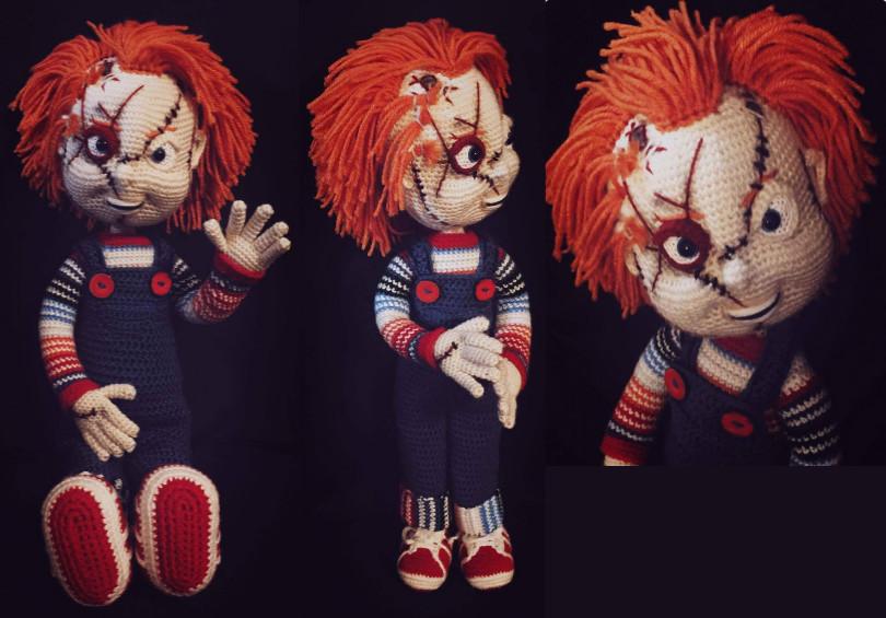 Chucky Crochet Pattern