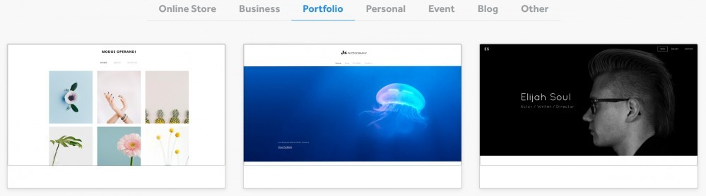 Weebly-Portfolio Themes