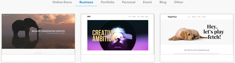 Weebly-Business Themes