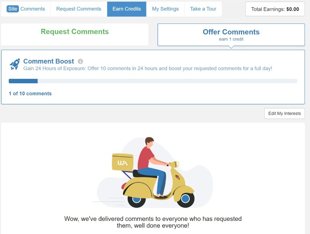site feedback tool