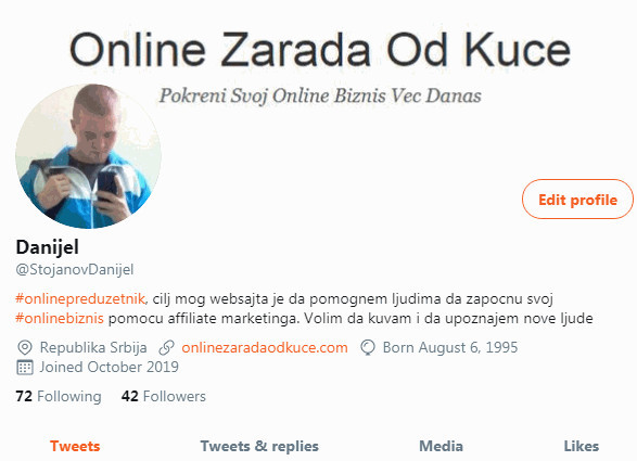 Twitter Danijel