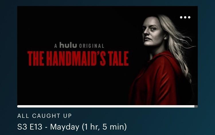 the Handmaids Tale on Hulu