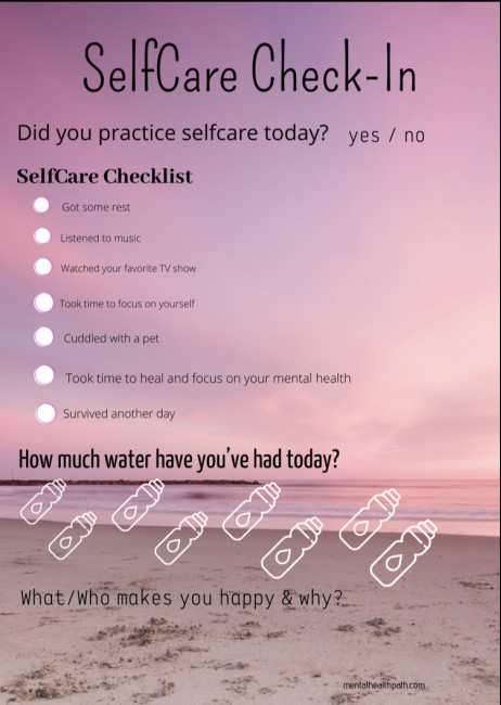 self-check sheet
