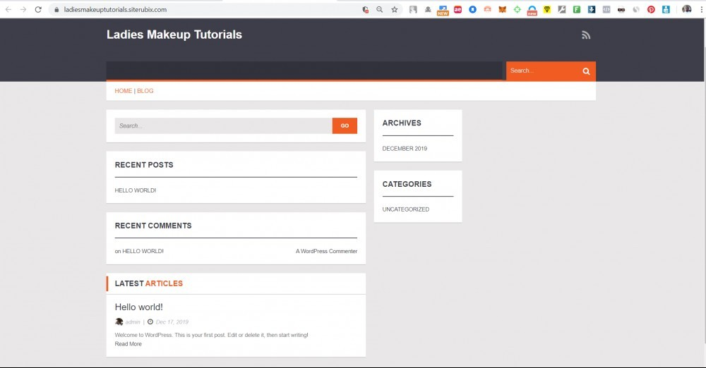 How To Create A Website For Free On WordPress.