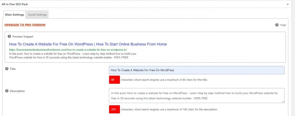 How To Optimize A Website For SEO