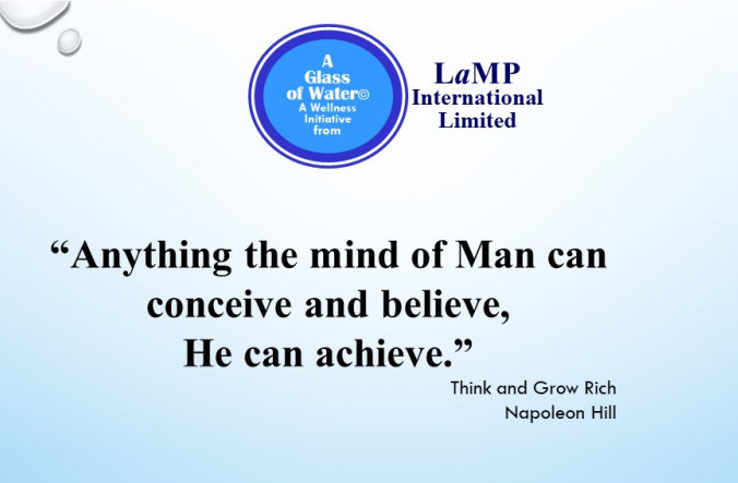 Anything the mind of Man can conceive and believe