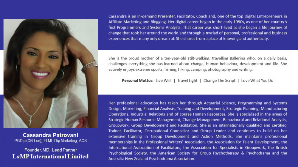 Cassandra Patrovani's Profile
