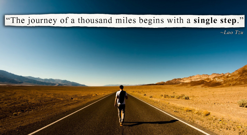 The Journey Of A Thousand Miles