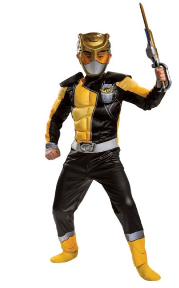 Gold Ranger Classic Muscle Costume
