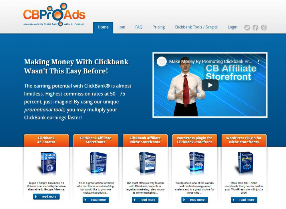 ClickBank Pro Ads Review 2020