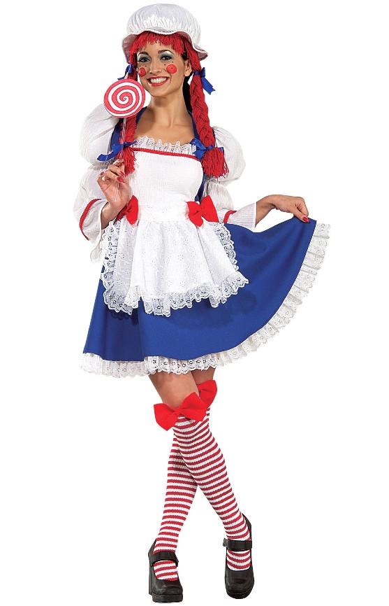Cheerful Rag Doll Costume