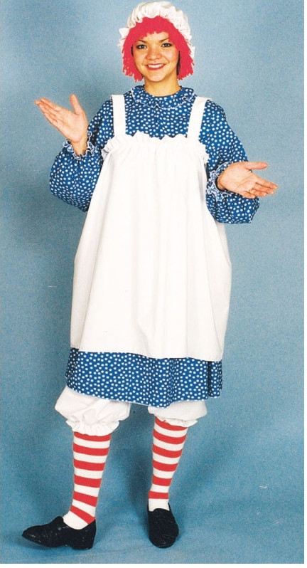 Raggedy Ann Adult Costume for Her