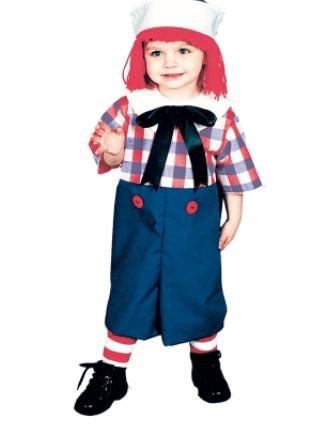 Raggedy Andy Child Costume