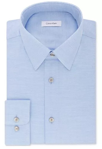 Men's Calvin Klein Steel Dress Shirt