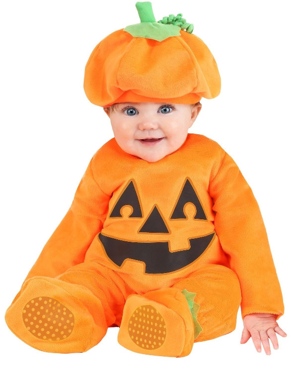 Infant Pumpkin Chunkin Costume