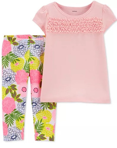 Toddler Girls 2 Piece Pant Set by Carter's