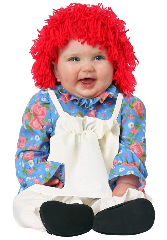 Infants Girl Rag Doll Costume