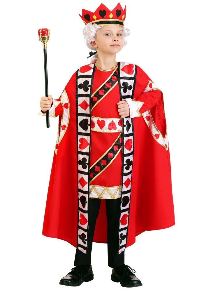 King of Hearts Costume for Kids