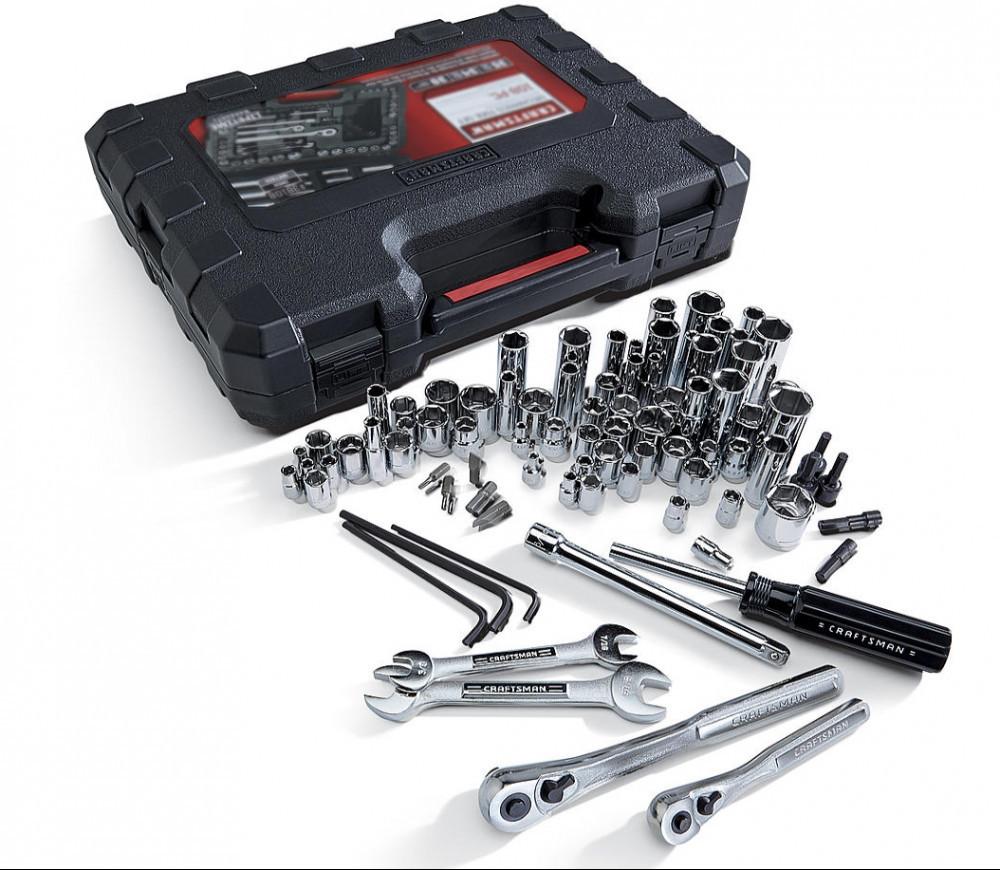 Craftsman 108-Piece Mechanic's Tool Set