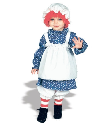 Raggedy Ann Toddler Costume