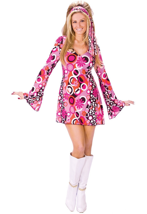 Feelin Groovy Disco Dress Costume